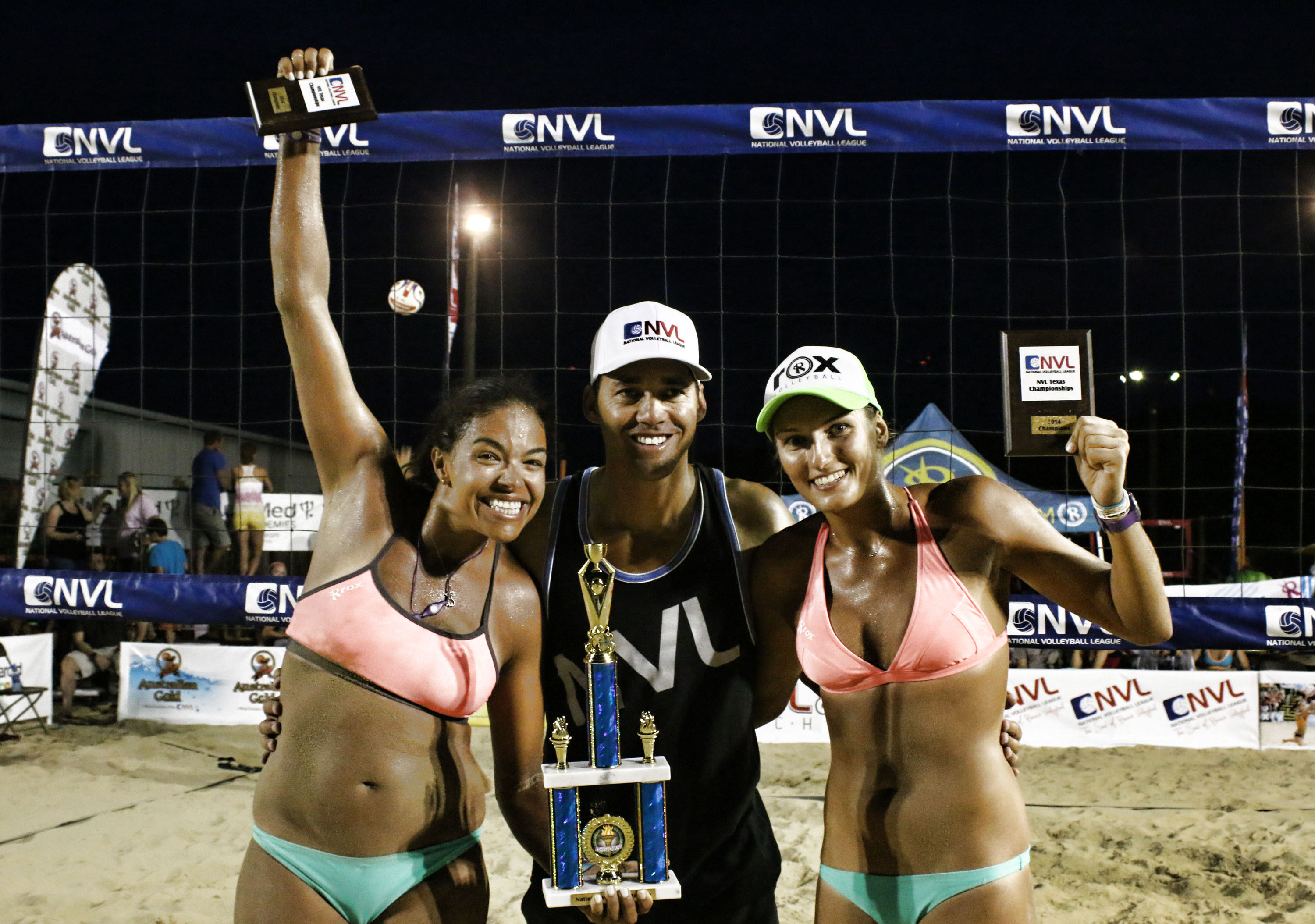 Josh Binstock and Sam Schachter Win NVL Opener in Dallas, TX;  Pri Piantadosi-Lima and Karolina Sowala Take Women's Title