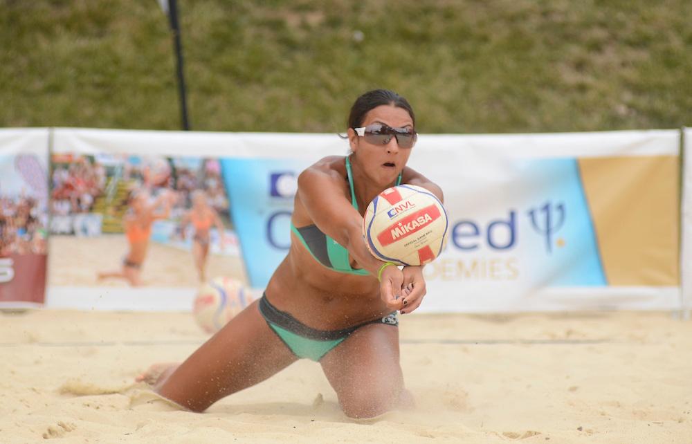 The beach, bikini and sand pro sports life