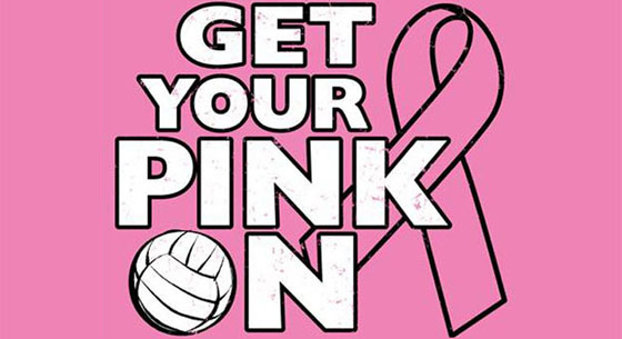 Get Your Volleyball Team Thinking Pink