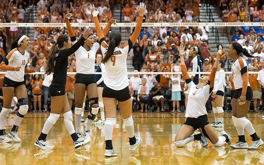 university of texas volleyball