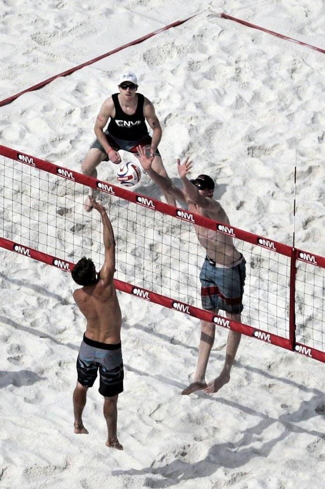 mens beach volleyball