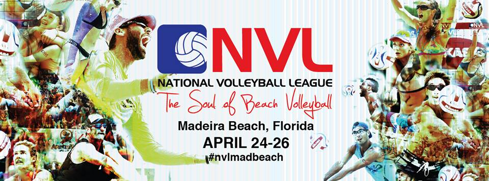 National Volleyball League Heads to Madeira Beach, Fla. for  Second Stop of 2015 Pro Tour