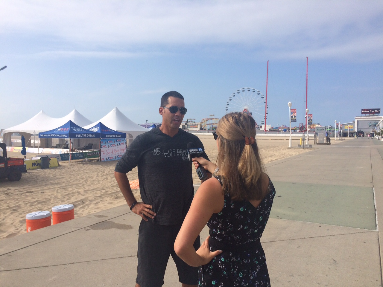 National Volleyball League Hosts Third Pro Tournament in Ocean City