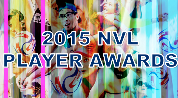 NATIONAL VOLLEYBALL LEAGUE ANNOUNCES 2015 PLAYER AWARDS