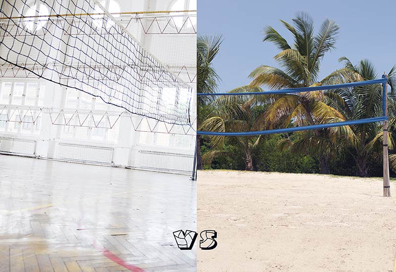 Beginner Beach Volleyball Transitioning Tips