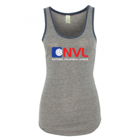 gray womens ringer tank