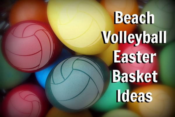Volleyball Themed Easter Basket