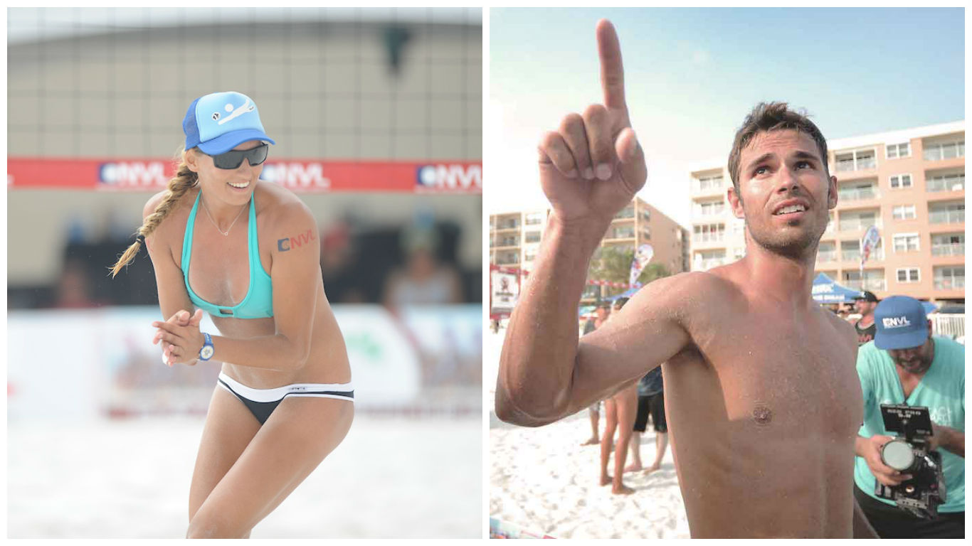 The Long-Awaited Love Tale of Beach Volleyball Newlyweds Kaya and Piotr Marciniak