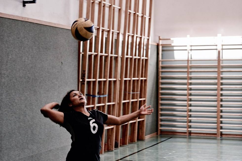 At Home Volleyball Drills