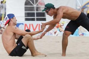 nvl beach volleyball hermosa